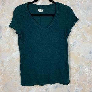 Maison Jules V Neck Knit Top Shirt 10